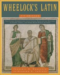 Wheelock's Latin 7th Edition 9780061997228 0061997226