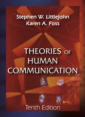 Theories of Human Communication 1st edition 9781577667063 1577667069