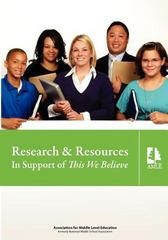 Research and Resources in Support of This We Believe 1st Edition 9781560902348 1560902345
