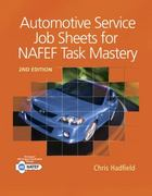 Automotive Service Job Sheets for NATEF Task Mastery 2nd Edition 9781111137984 1111137986