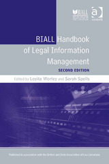 BIALL Handbook of Legal Information Management 2nd Edition 9781317174462 1317174461