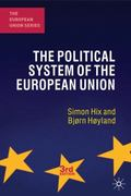 The Political System of the European Union 3rd Edition 9780230249820 0230249825