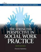 The Strengths Perspective in Social Work Practice 6th edition 9780205011544 0205011543