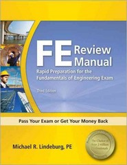 FE Review Manual 3rd Edition 9781591263333 1591263336