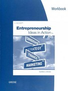 Workbook for Greene's Entrepreneurship: Ideas in Action, 5th 5th edition 9780840064868 0840064861