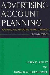 Advertising Account Planning 2nd edition 9780765625649 0765625644