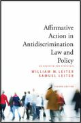 Affirmative Action in Antidiscrimination Law and Policy 2nd edition 9781438435145 1438435142