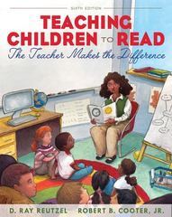 Teaching Children to Read 6th Edition 9780132566063 0132566060