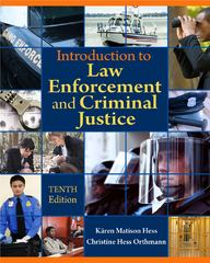 Introduction to Law Enforcement and Criminal Justice 10th edition 9781111138905 1111138907