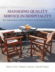 Managing Quality Service In Hospitality 1st Edition 9781439060322 1439060320