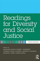 Readings for Diversity and Social Justice 3rd Edition 9780415892940 0415892945