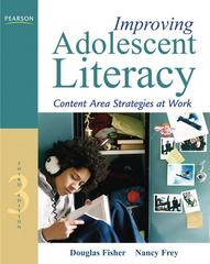 Improving Adolescent Literacy 3rd edition 9780132487122 0132487128