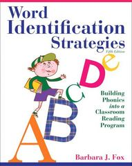 Word Identification Strategies 5th Edition 9780132611282 0132611287
