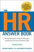 The HR Answer Book 2nd Edition 9780814417171 0814417175