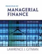 Principles of Managerial Finance & MyFinanceLab with Pearson eText Student Access Code Card Package 12th edition 9780132479547 0132479540