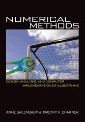 Numerical Methods 1st Edition 9780691151229 0691151229