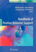 Handbook of Positive Behavior Support 1st edition 9781441981356 1441981357
