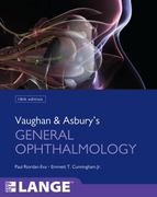 Vaughan & Asbury's General Ophthalmology, 18th Edition 18th edition 9780071634205 0071634207