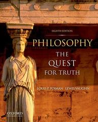 Philosophy 8th Edition 9780199751792 019975179X