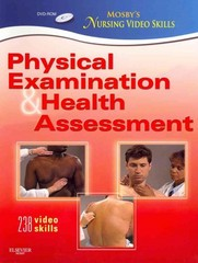 Mosby's Nursing Video Skills: Physical Examination and Health Assessment 2nd Edition 9780323077989 0323077986