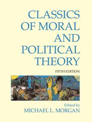 Classics of Moral and Political Theory 5th Edition 9781603846684 1603846689
