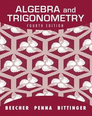 Algebra and Trigonometry 4th edition 9780321830715 0321830717