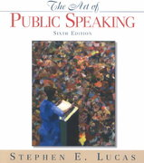 The Art of Public Speaking, PowerWeb and Topic Finder 6th edition 9780070390645 0070390649