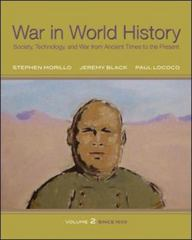 War In World History: Society, Technology, and War from Ancient Times to the Present, Volume 2 1st edition 9780070525856 0070525854