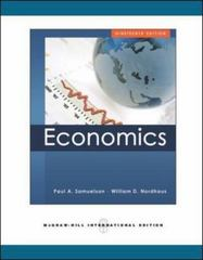Economics 19th edition 9780071263832 0071263837