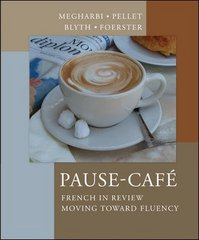 Pause-Cafe 1st edition 9780072407846 0072407840