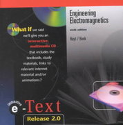 E-Text to Accompany Engineering Electromagnetics 6th edition 9780072448641 0072448644