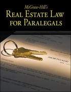McGraw-Hill's Real Estate Law for Paralegals 1st Edition 9780073376950 0073376957