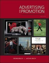 Advertising and Promotion: An Integrated Marketing Communications Perspective 8th edition 9780073381091 0073381098