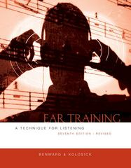 Ear Training, Revised 7th Edition 9780073401362 0073401366