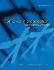 Behavior in Organizations 9th edition 9780073404936 0073404934