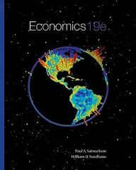 Economics 19th edition 9780073511290 0073511293