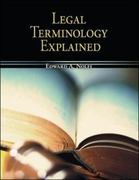 Legal Terminology Explained 1st Edition 9780073511849 0073511846