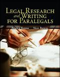 Legal Research  Writing for Paralegals