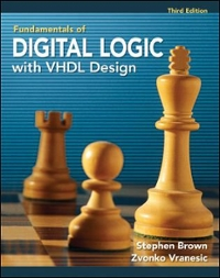 Fundamentals of Digital Logic with VHDL Design with CD-ROM 3rd Edition 9780077221430 0077221435