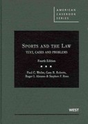 Sports and the Law 4th edition 9780314199867 0314199861