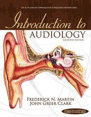 Introduction to Audiology 11th Edition 9780132108218 0132108216