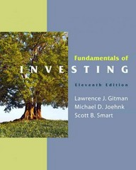 Fundamentals of Investing & MyFinanceLab with Pearson eText Student Access Code Card Package 11th edition 9780132479684 0132479680