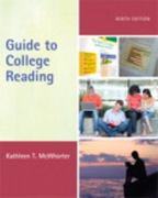 Guide to College Reading (with MyReadingLab with Pearson eText Student Access Code Card) 9th edition 9780205170166 0205170161