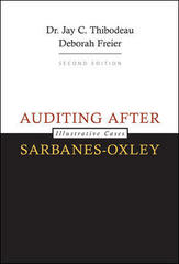 Auditing After Sarbanes-Oxley 2nd edition 9780073379494 0073379492