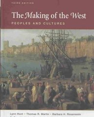 The Making of the West, Combined Volume 3rd edition 9780312452940 0312452942