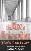 The Rise of Universities 1st Edition 9780765808950 0765808951