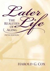 Later Life 5th Edition 9780130138316 0130138312