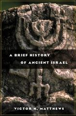 A Brief History of Ancient Israel 1st Edition 9780664224363 0664224369