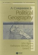 A Companion to Political Geography 1st edition 9781405175647 1405175648