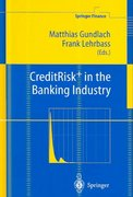 CreditRisk+ in the Banking Industry 1st edition 9783540207382 3540207384